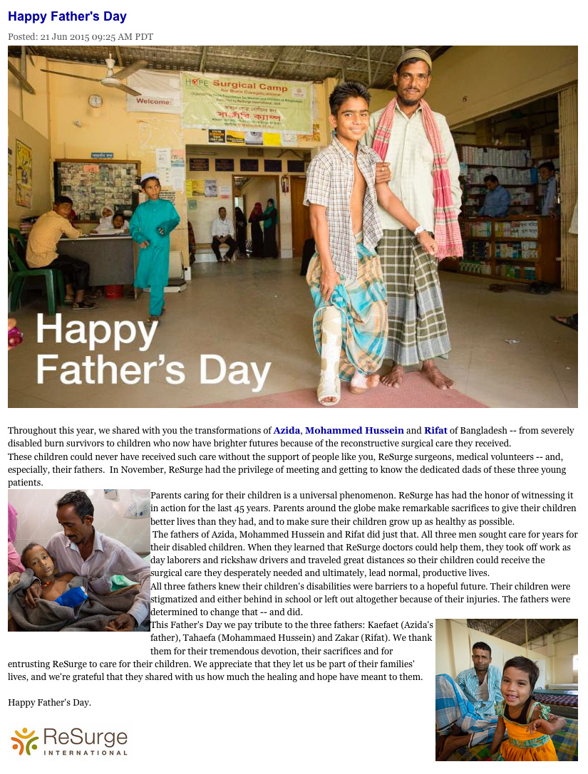 Fathers Day 2015 June Resurge Blog