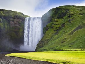FRESH, SKOGAFOSS, SOUTH COAST, ICELAND