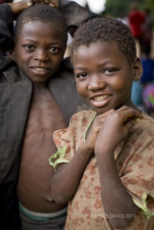 VILLAGE LIFE, SIBLINGS, MALAWI