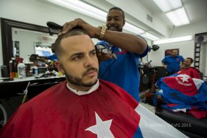 IN FOR THE TRIM, GEORGE, LITTLE HAVANA, MIAMI, FLORIDA