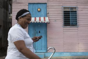 TRANSISTION, NURSE IN MOTION, REGLIA, CUBA