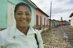 MARIBEL, RECENT GRADUATE FROM NURSING SCHOOL, TRINIDAD, CUBA