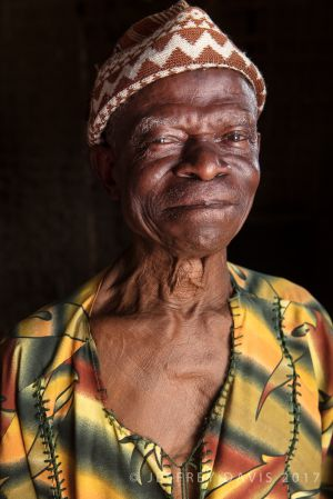 BRIMA, CHIEF OF JABAMA FORTUNE VILLAGE, SIERRA LEONE