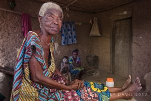 MUSU, VILLAGE ELDER, TONGUE VILLAGE, SIERRA LEONE