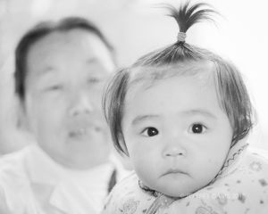 YOUNG GIRL, FUNG CHENG ORPHANAGE, CENTRAL CHINA