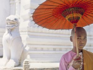 SPIRIT OF GIVING, YOUNG NUN, CENTRAL BURMA