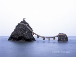 ETERNAL EMBRACE, WEDDED ROCKS, ISE, JAPAN