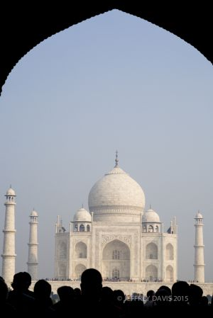 DAYBREAK AT TAJ, TAJ MAHAL, INDIA
