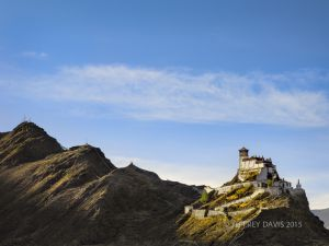 HOUSE OF TIBETAN KINGS, YARLUNG VALLEY, TIBET
