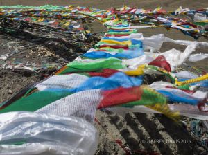 PRAYER FLAGS, CENTRAL TIBET