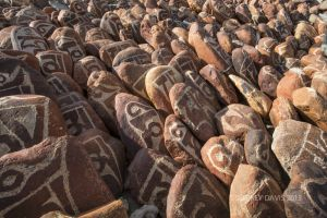 PRAYER ROCKS, ANCIENT GUGE REGION, CENTRAL TIBET