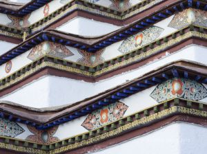 PATTERNS FOR THE GODS, KUMBUM STUPA, GYANTSE, TIBET