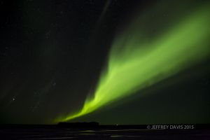 NORTHERN LIGHTS, VIK, ICELAND
