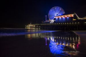 NIGHT OF AMUSEMENT, SANTA MONICA, CALIFORNIA