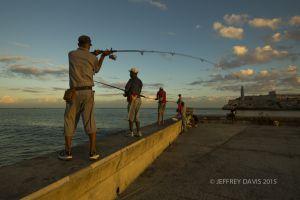 SUNRISE, MALECON, HAVANA, CUBA