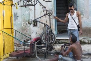 BIKE REPAIR, HAVANA, CUBA