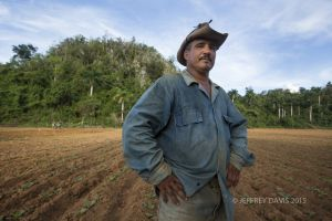 TOBACCO FARMER, VINALES, CUBA