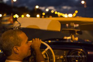 NIGHT LIFE, CONVERTIBLE, HAVANA, CUBA