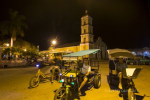 NIGHT GATHERING, REMEDIOS, CUBA