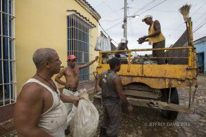 GARBAGE CREW, TRINIDAD, CUBA