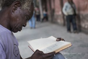 LITERACY IN MOTION, OLD SECTION, HAVANA, CUBA