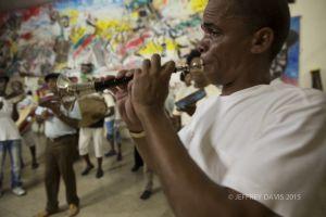 MUSICIAN, CONGA DE LOS HOYOS, SANTIAGO, CUBA