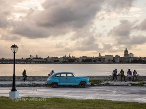 LATE AFTERNOON, REGLA, HAVANA REGION, CUBA