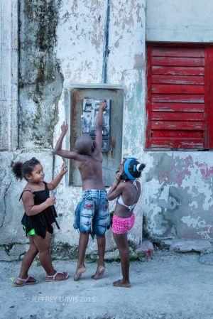 PLAY CALLING, REGLA, HAVANA REGION, CUBA