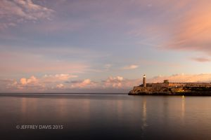 SERENE SUNRISE, HAVANA BAY, HAVANA, CUBA