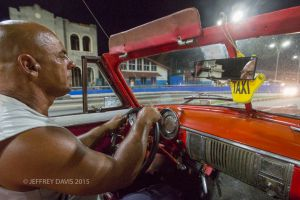 EVENING ON WHEELS, MALECON, HAVANA, CUBA