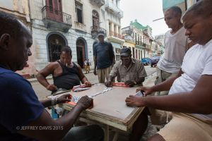 CHARLIE AND FRIENDS, DOMINOES, OLD HAVANA, CUBA