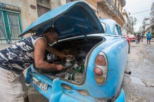 MOTOR REPAIR, CENTRAL HAVANA, CUBA