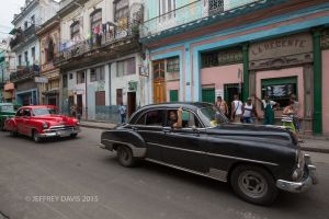 AN OLD PROCESSION, CENTRAL HAVANA, CUBA