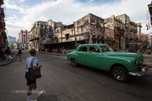 STREET LIFE AND RUBBLE, OLD HAVANA, CUBA