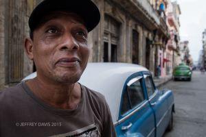 HENRY, CAB DRIVER, DOCTOR, OLD HAVANA, CUBA