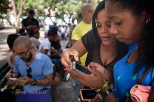 WIFI ARRIVES, HAVANA, CUBA
