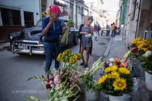 FLOWER SHOP, CENTRAL HAVANA