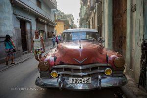 OLD HAVANA AT DUSK, CUBA