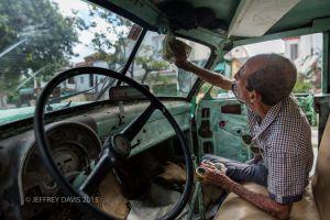 JESUS, TRUCK DRIVER, HAVANA, CUBA