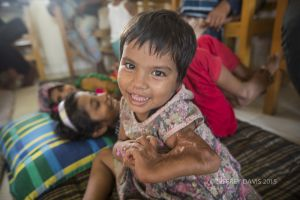 AZIDA SHARES HER JOY, PRE-SURGERY, HOPE HOSPITAL, COX'S BAZAR, BANGLADESH