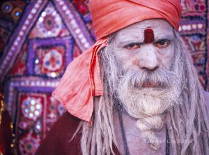 SADHU, JAISALMER FORT, RAJASTHAN, INDIA, 2004, SERIES C