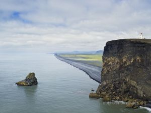 RUGGED CALM, DYRHOLAEY, ICELAND, 2011, SERIES B