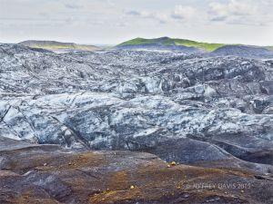 FROZEN MOTION, SKAFTAFELL GLACIER, ICELAND, 2011, SERIES B