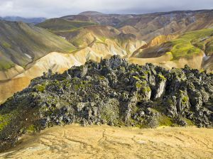 RAW, LANDMANNALAUGAR, HIGHLANDS, ICELAND, 2011, SERIES B