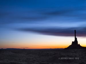 SOLITUDE, MONUMENT VALLEY, UTAH, 2012, SERIES A