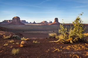 NORTH WINDOW, MONUMENT VALLEY, UTAH, 2012, SERIES A