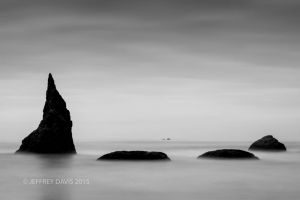 MERLIN'S CIRCLE, SEA STACKS, BANDON, OREGON, 2015, SERIES A