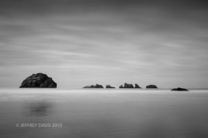 THE GATHERING, FACE ROCK, BANDON, OREGON, 2015, SERIES A