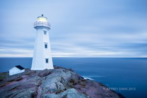 BLUE MORNING, SUNRISE, CAPE SPEAR, ST. JOHNS, NEWFOUNDLAND, CANADA, 2015, SERIES A