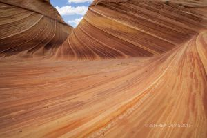 UNDULATE, THE WAVE, ARIZONA, 2013, SERIES A